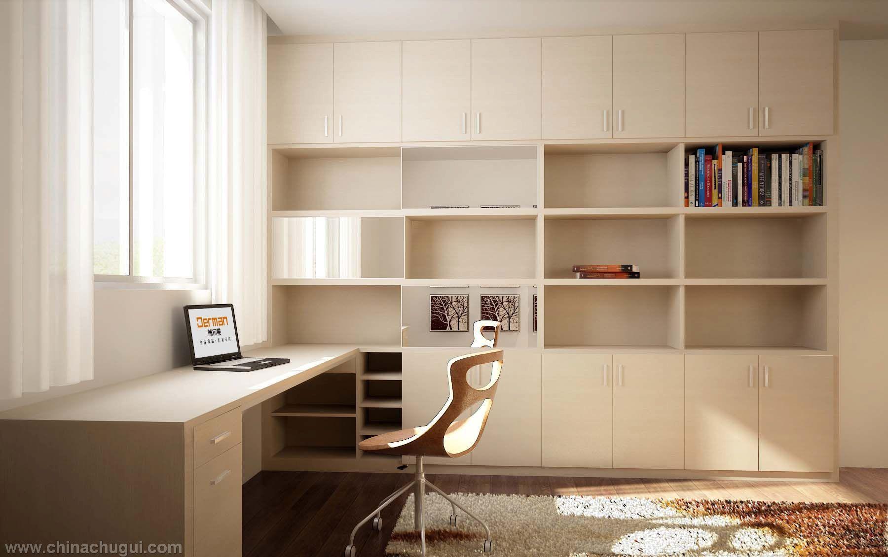 德尔曼(厦门)整体家居有限公司供应整体衣柜-书房