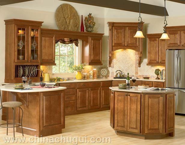 百丽厨柜-中式经典实木
