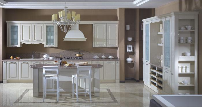 金牌厨柜-欧式整体橱柜图片-爱琴海