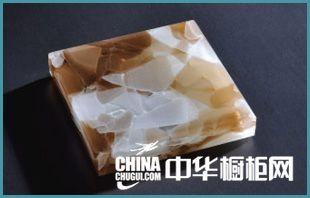 晶创玻璃台面-橱柜台面-浓情啡花(JC-2-1)
