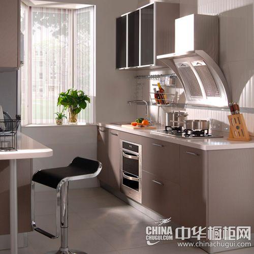印象麻纹-中灰-G-home桔家橱柜整体厨柜