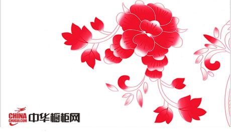钢复合板-大红花瓷