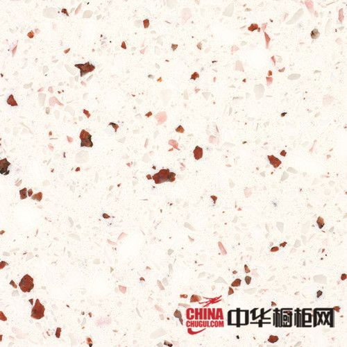 戈兰迪-石英石橱柜台面-抗裂石英石-GSK004满园春色