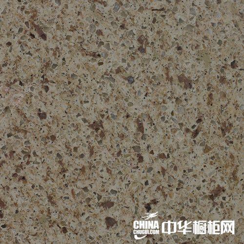 戈兰迪抗裂石英石-石英石台面-抗裂石英石-GSK202姹紫嫣红