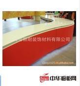 可丽耐人造石-橱柜台面-纯亚克力异形人造石台面ABTP006