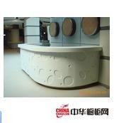可丽耐人造石-橱柜台面-人造石异形台面ABTP008