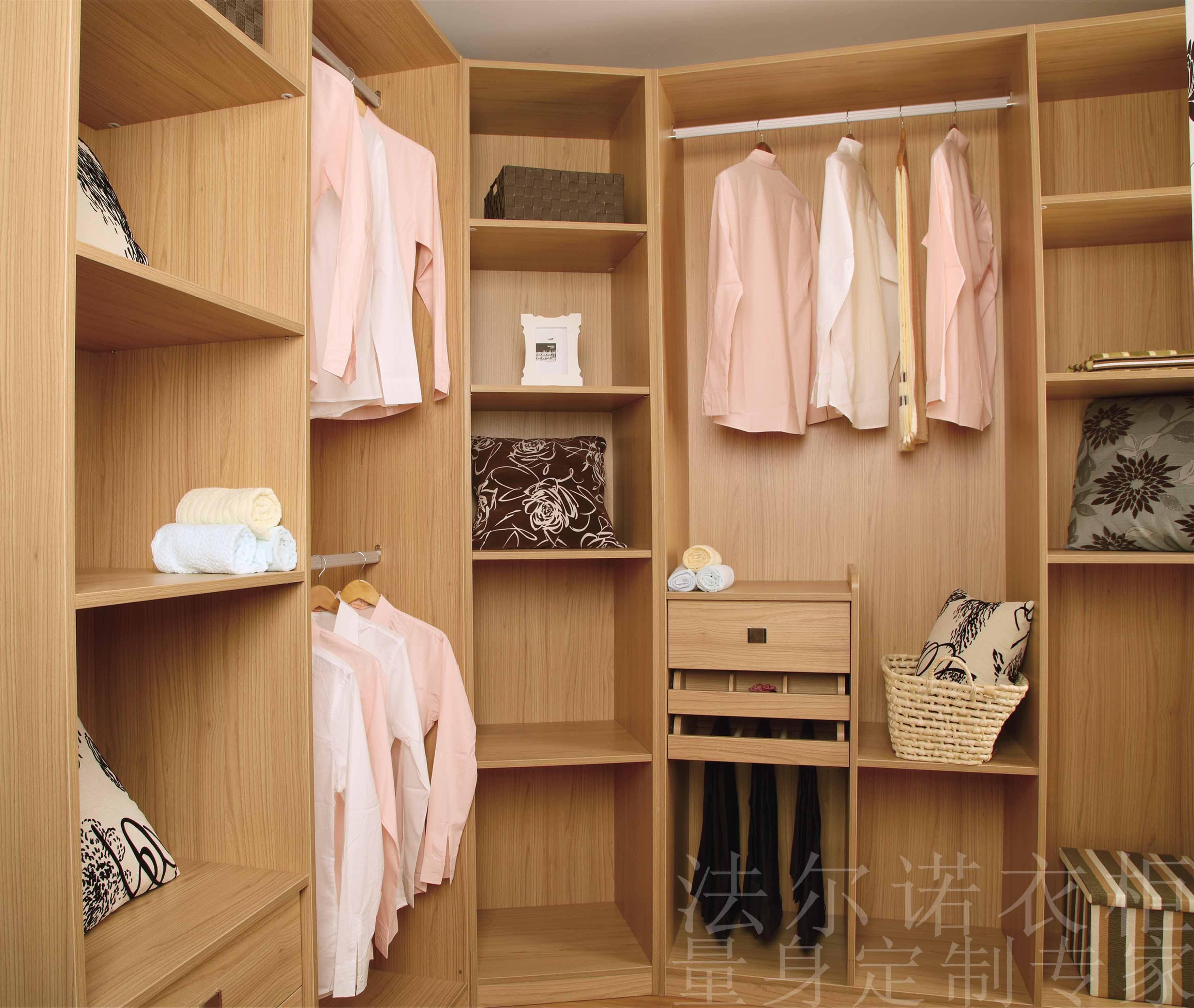 定制衣柜移门 法尔诺衣柜-衣柜-欧式白枫木衣柜