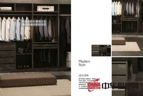 左尚明舍衣柜-整体衣柜-现代风格