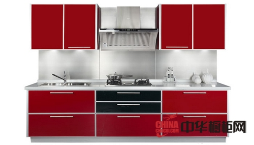 柯拉尼橱柜-整体橱柜-汉诺威中国红