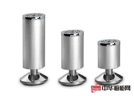 爱好家五金-橱柜五金-优质铝合金柜脚GJ01P