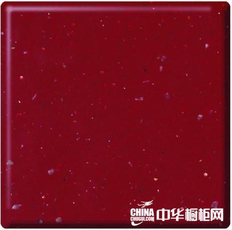 欧雅典橱柜- 人造石-二代亚克力系列 -富贵红D4107
