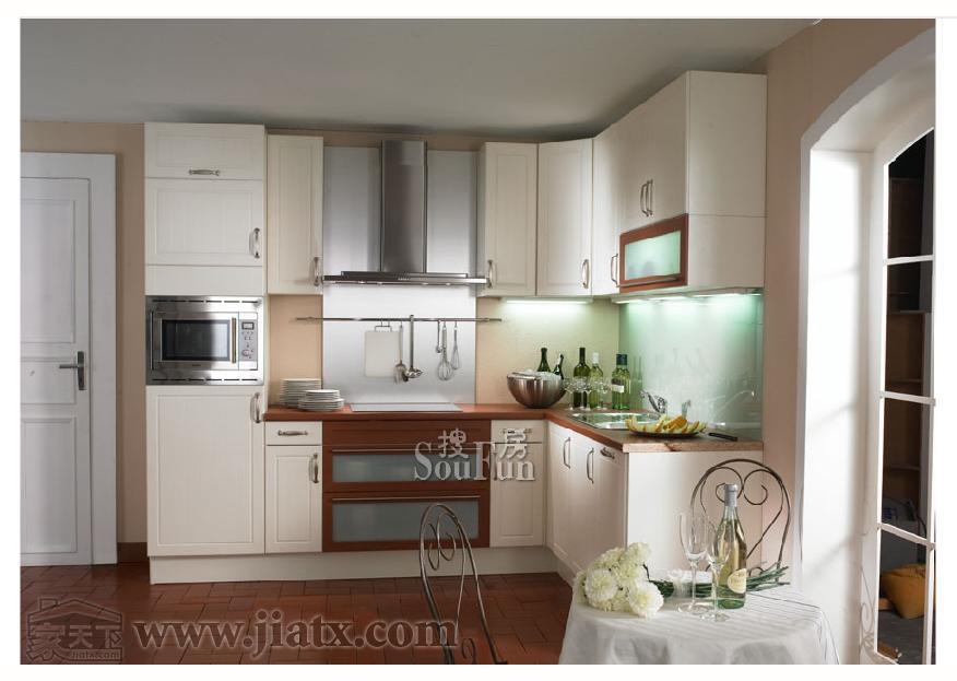 金绿宅配实用型普通家庭橱柜图片