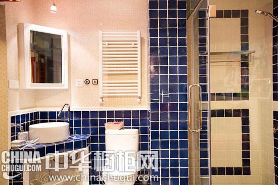 清新的地中海婚房案例欣赏 砖砌橱柜量身而制