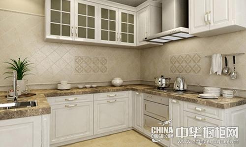 西式厨房经典代表 五个效果图解析美式田园橱柜设计