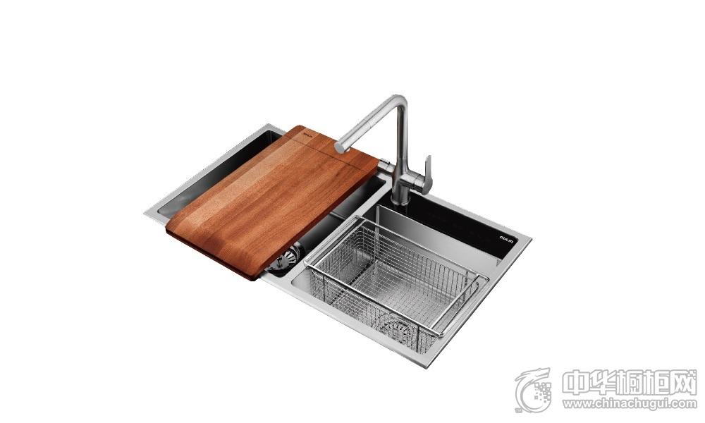 欧琳橱柜-水槽JBS2T-OLGS820
