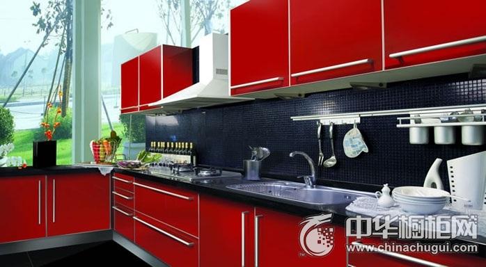 家博士厨柜-现代简约系列-红唇烈焰