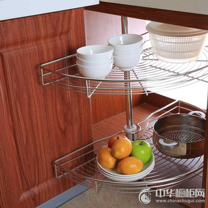 澳都厨柜·衣柜-橱柜五金 180度转角拉篮