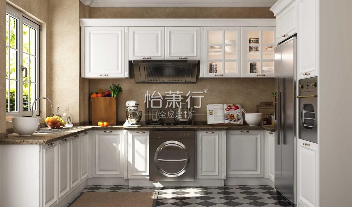 简爱橱柜效果图 16�O刚柔并济的设计,至纯至美的浪漫情调