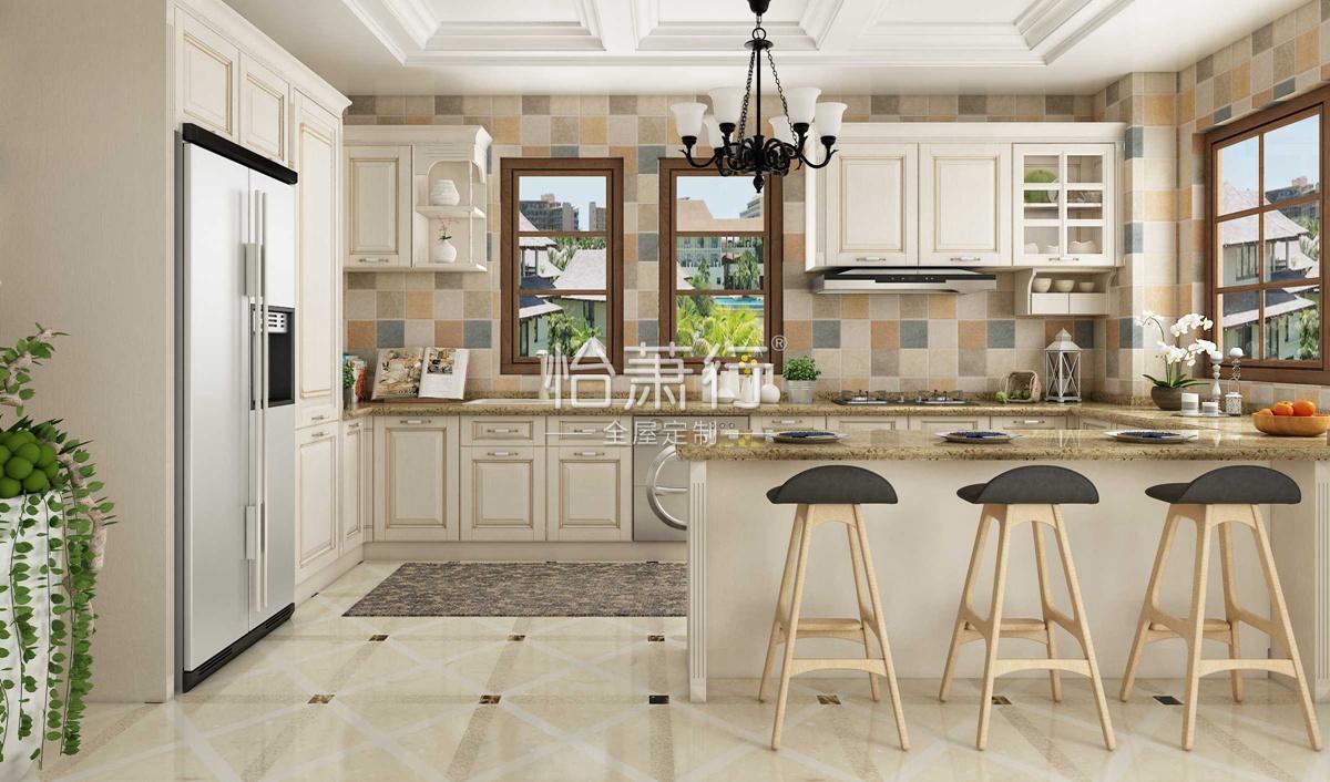 普利亚厨房空间效果图 13�O与意式浓稠情调的邂逅