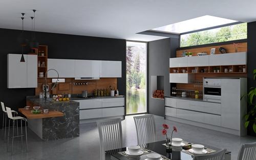 Kolani柯拉尼-整体橱柜-B350写意空间 -烤漆现代