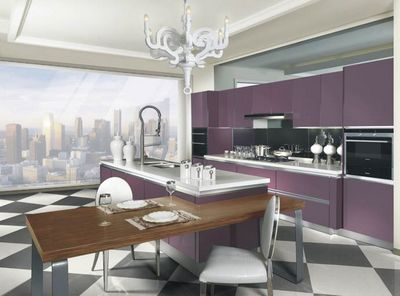德贝厨柜-紫色情愫3