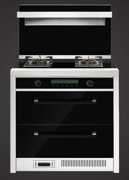 好来屋厨柜-集成灶-黑色