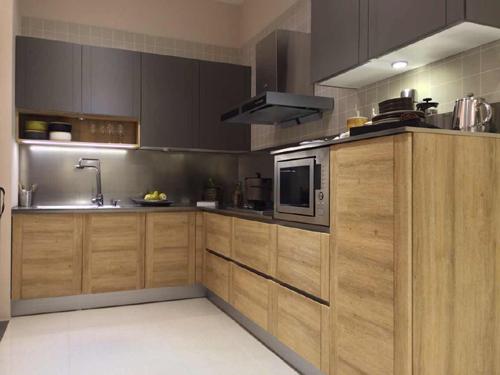 美高印象厨柜-尚系列模压厨柜