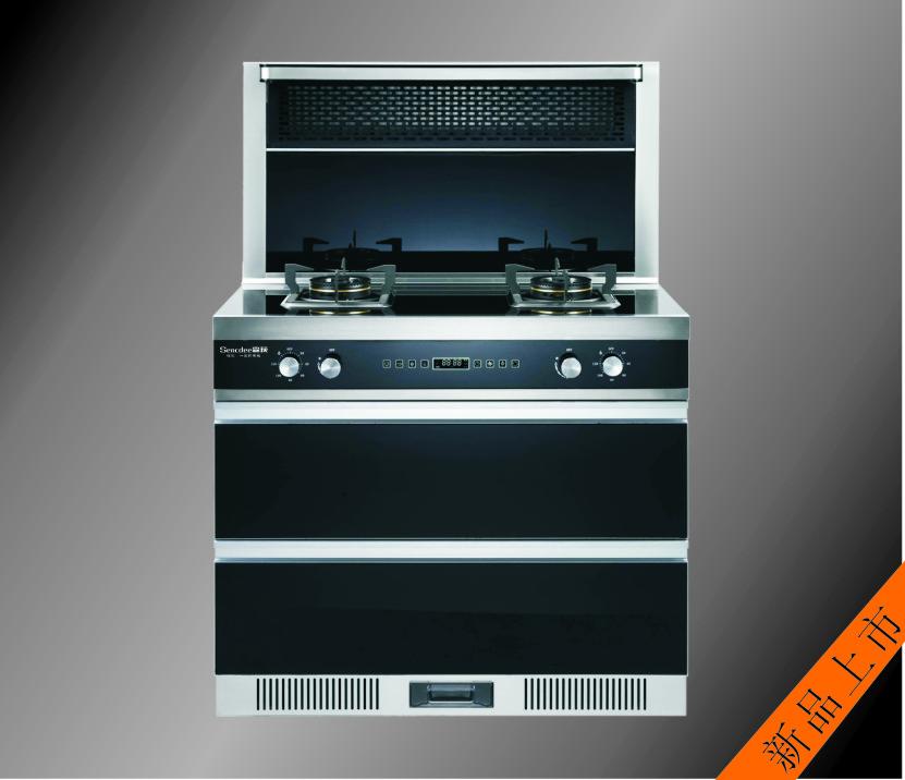 森荻厨电-嵊州厨房电器 森荻SD-90S全新集成灶面世