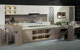 金牌厨柜-整体橱柜-西曼1