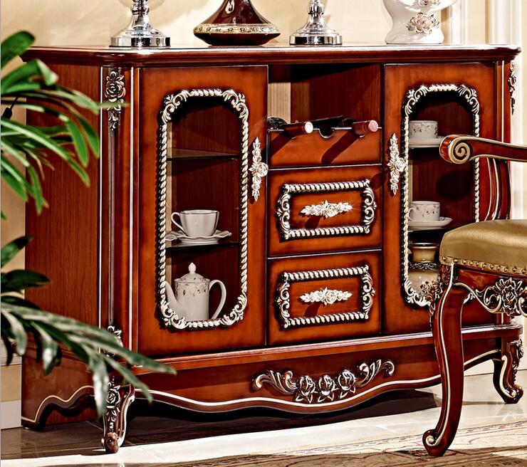 供应 橱柜门板 实木门板 > 欧式雕花酒柜餐边柜
