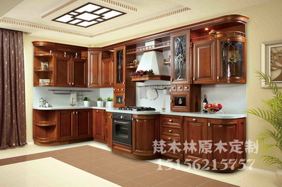 安徽实木橱柜门板-梵木林