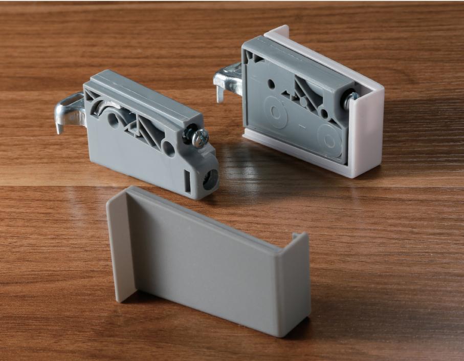 耐斯克NISKO橱柜家具五金ABS吊码带装饰盖吊柜固定悬挂件