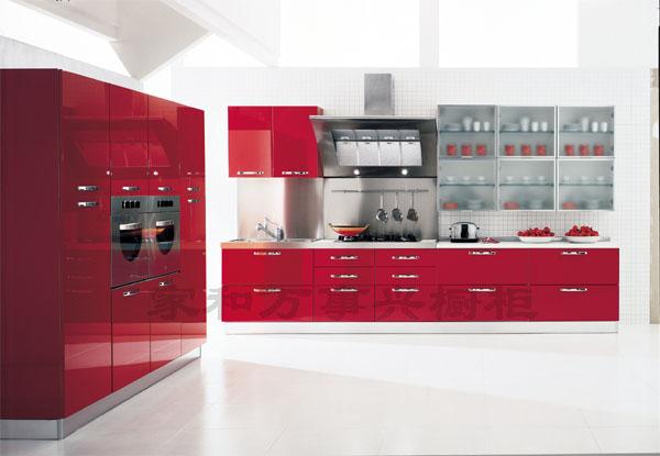 家和万事兴橱柜-整体橱柜-烤漆橱柜系列