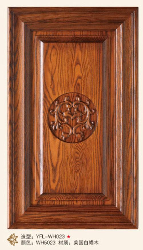 馨雅福莱橱柜-实木门板-YFL-WH023