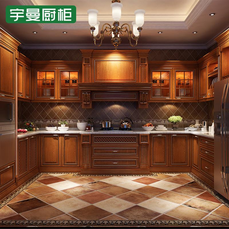 宇曼厨柜-整体橱柜-实木复合系列