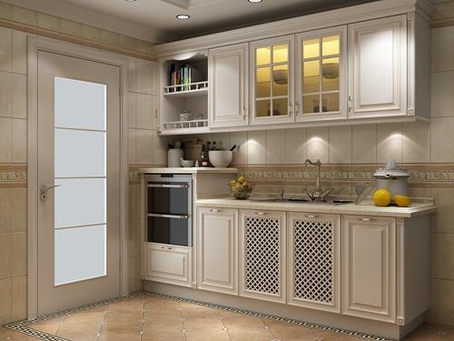 宇曼厨柜-整体橱柜-静谧时光吸塑系列
