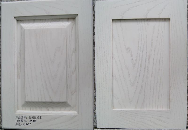 赫思缇橱柜-仿白美国红橡木QX-07