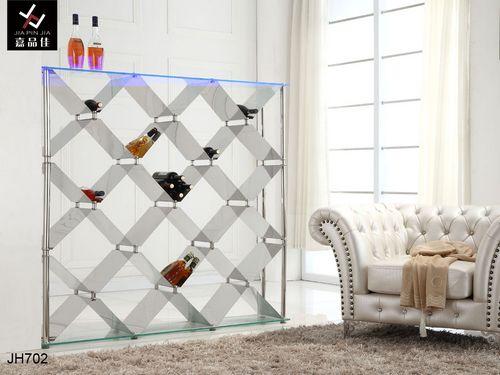 嘉品佳橱柜-不锈钢酒架