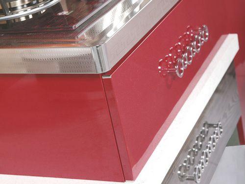 嘉品佳橱柜-不锈钢台面-红色之最