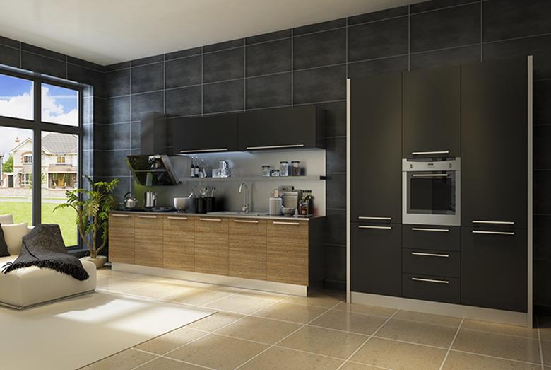 申斯达橱柜衣柜-极简2016 整体厨房整体橱柜定做现代风格
