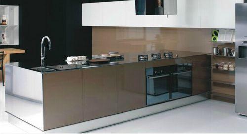 大唐宅配橱柜-不锈钢系列-不锈钢台面
