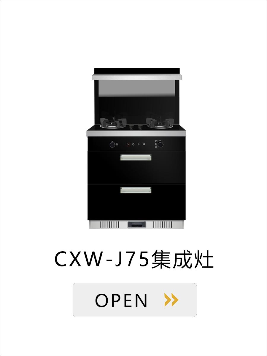 弗兰特厨房电器-集成灶-CXW-J75