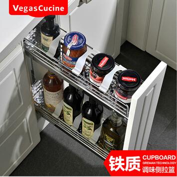 佳橱维思-厨房用具-铁质调味侧拉篮