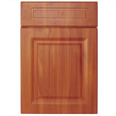 艾嘉整体橱柜-模压橱柜门型-棕色