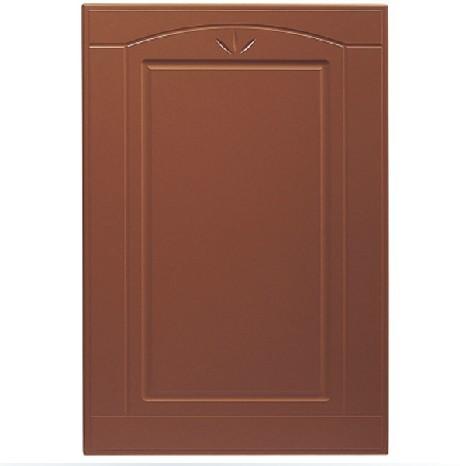 艾嘉整体橱柜-模压橱柜门型-深棕色