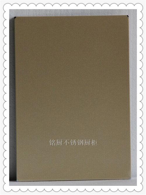 铭厨橱柜-橱柜门板-MC11-18发纹咖啡红