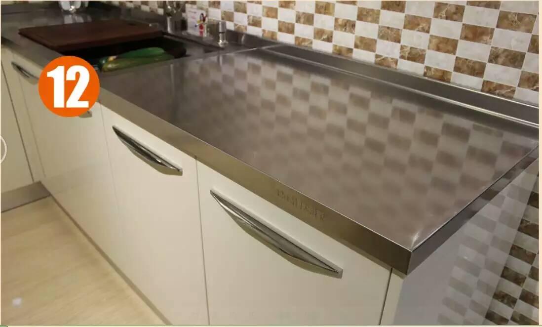 博大爱家不锈钢厨柜-不锈钢台面博大爱家