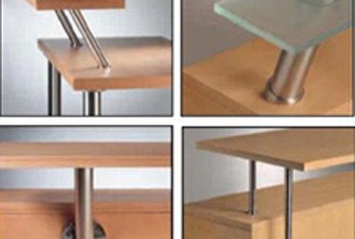 欧卡罗橱柜-欧卡罗厨柜厨房五金系列—外置玻璃层板