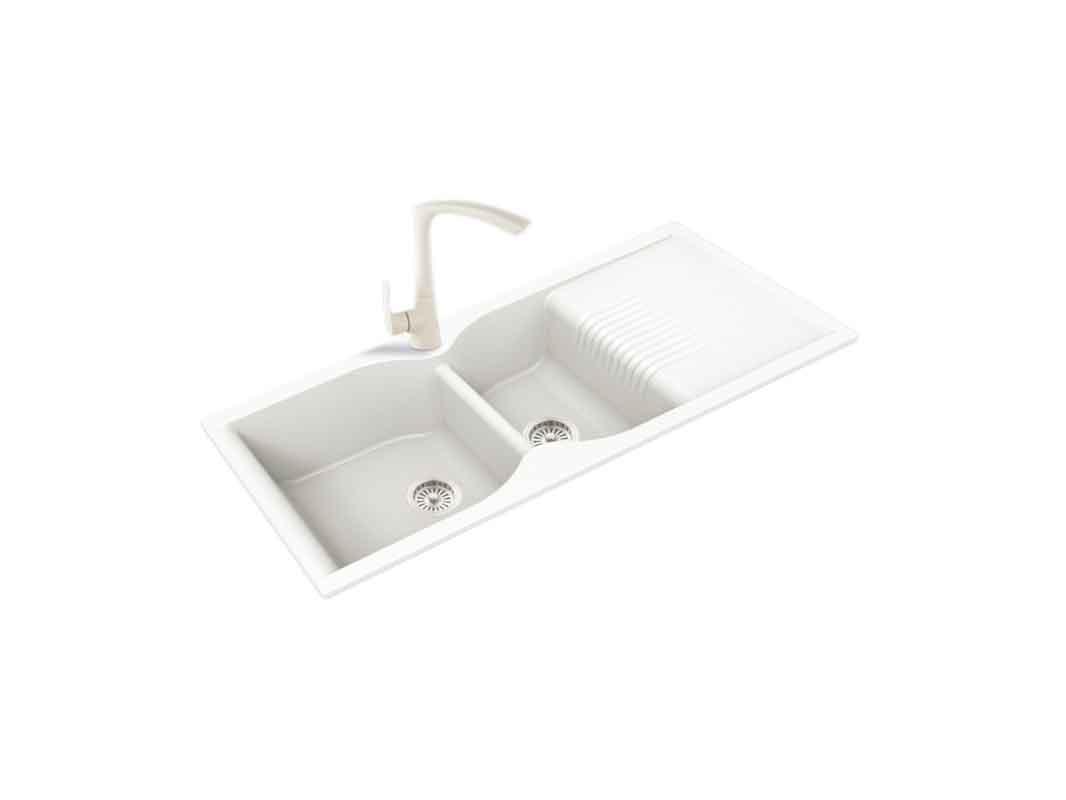康宝厨柜-橱柜五金-特制石英水盆 XP022