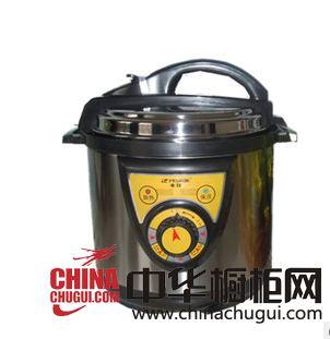 东锐电器-半球机械版5l不锈钢电压力锅蜂窝合金内胆